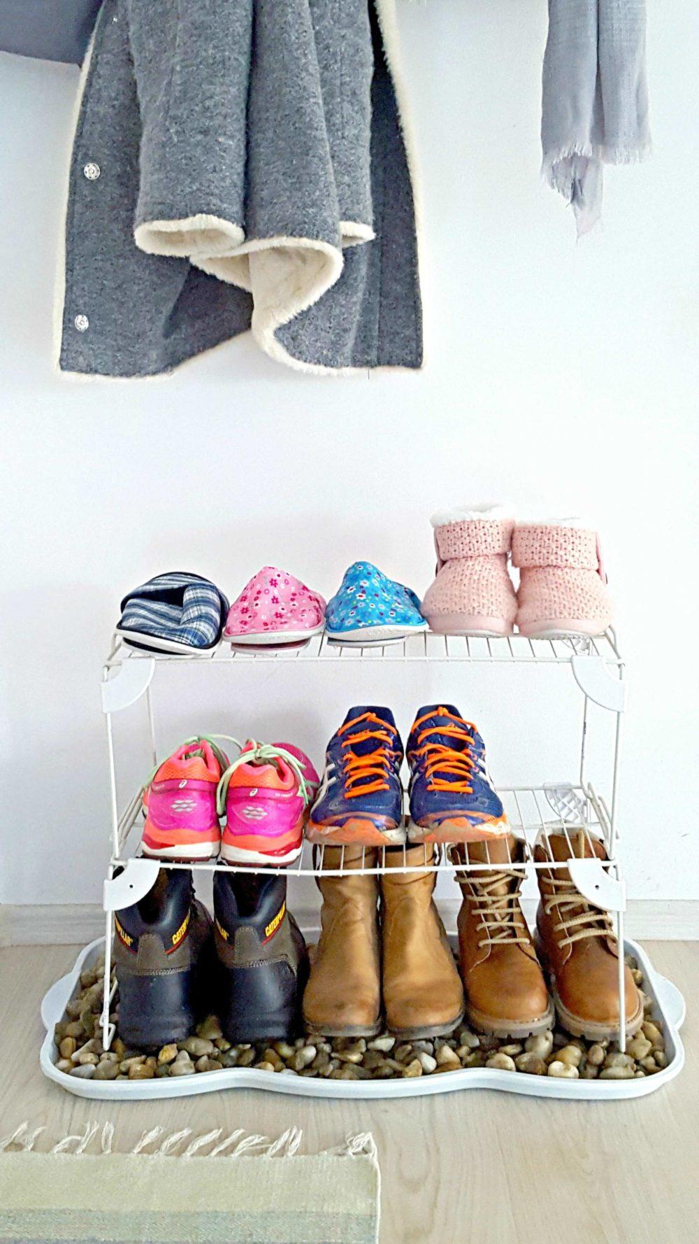 shoe tray for front door