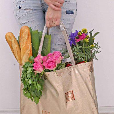 Easiest Reusable Grocery Bag Pattern