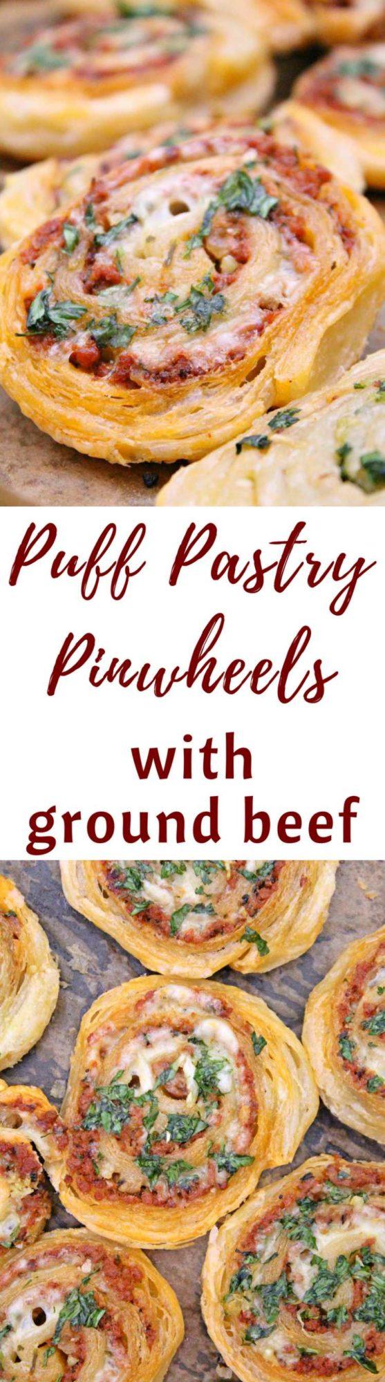 Meat pinwheels