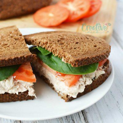 Tuna Spread Recipe With Onion, Mayonnaise & Cream Cheese