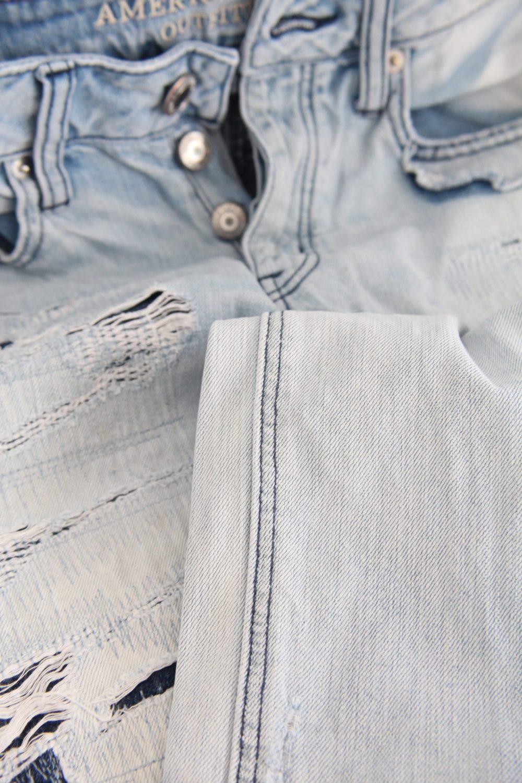 flat seam on jeans