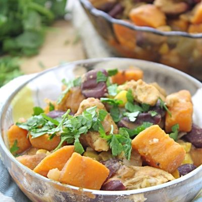 Chicken Chili With Sweet Potatoes And Black Beans