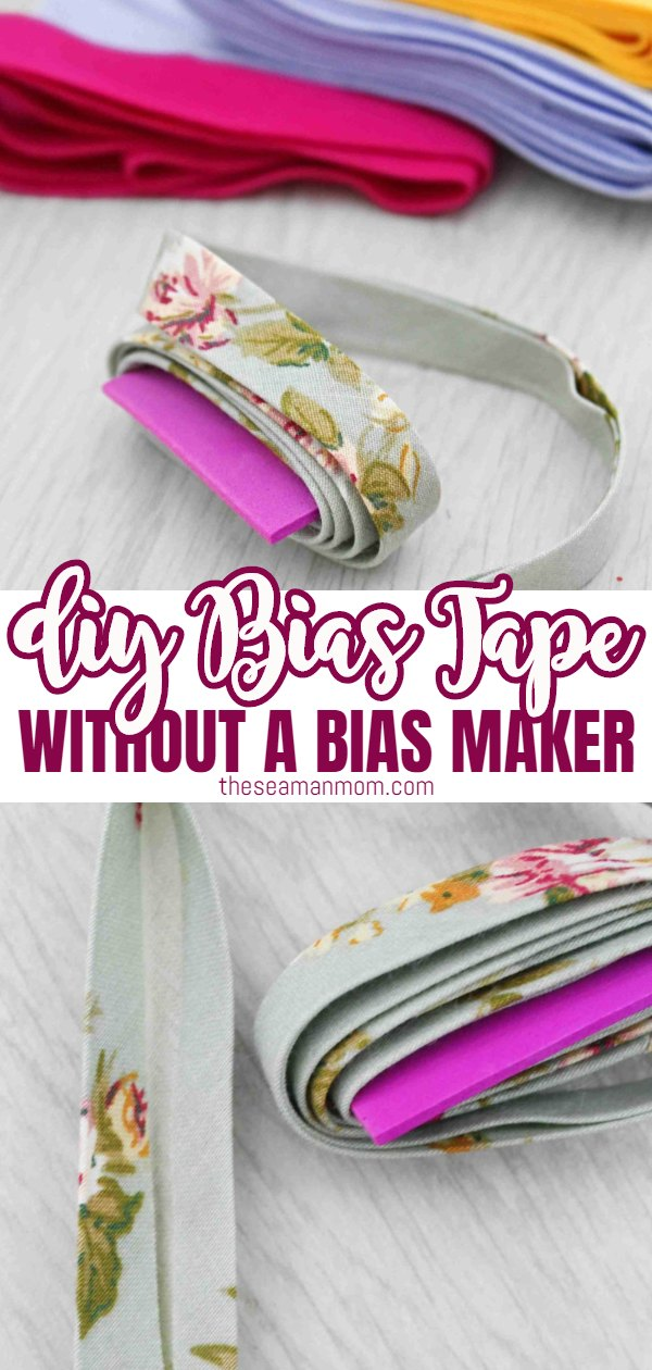 Why spend money on bias tape you're really not crazy about when you could create your own in the fabric size and length you need? Making bias tape at home could not be easier so you won't need to compromise anymore and use bias binding that's simply not perfect for your project! Here's how to make bias tape, in a simple and easy tutorial that covers bothsingle fold bias tape and double fold bias tape! via @petroneagu
