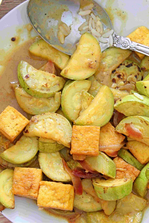 tofu vegetable curry
