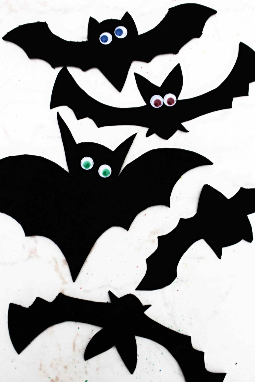 how to make a paper bat