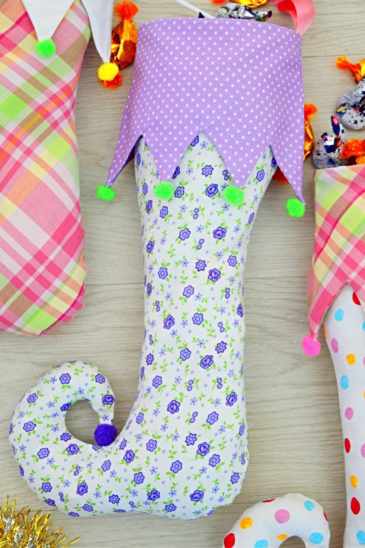 elf stockings sewing pattern