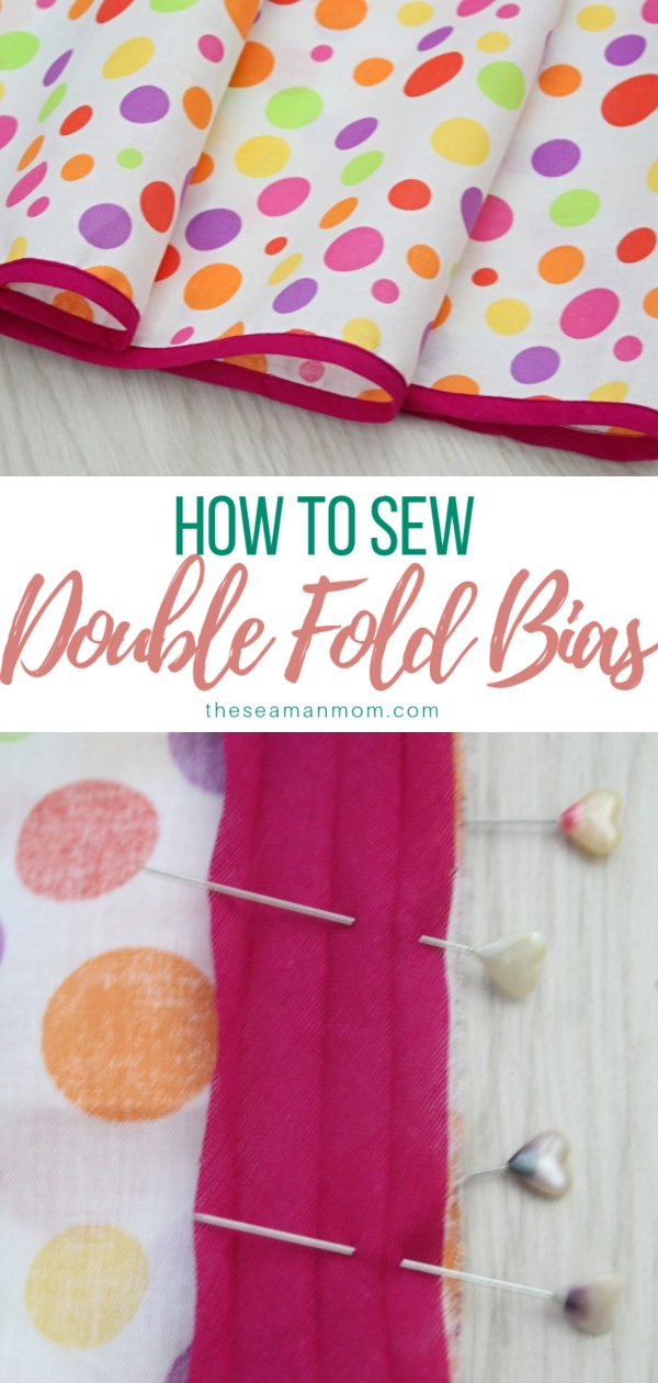 Sewing tutorial: Sewing double fold bias tape
