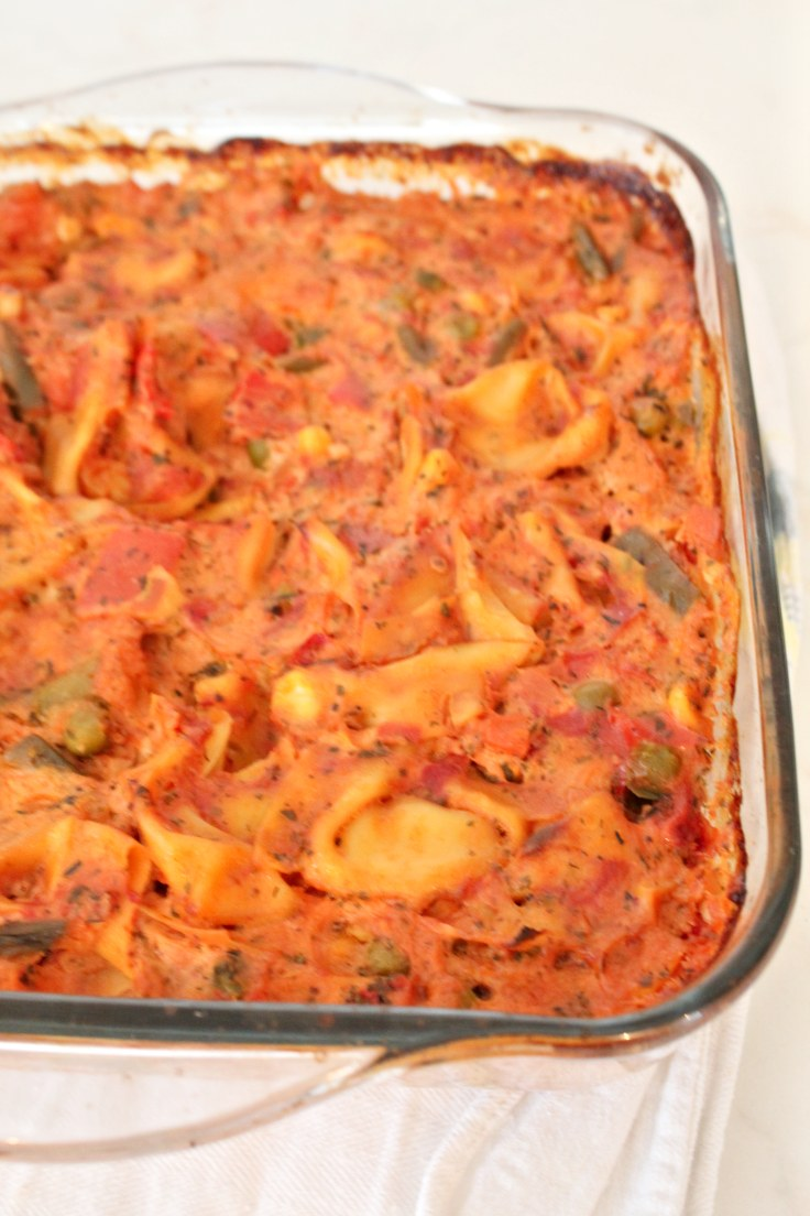 Tortellini with vegetables