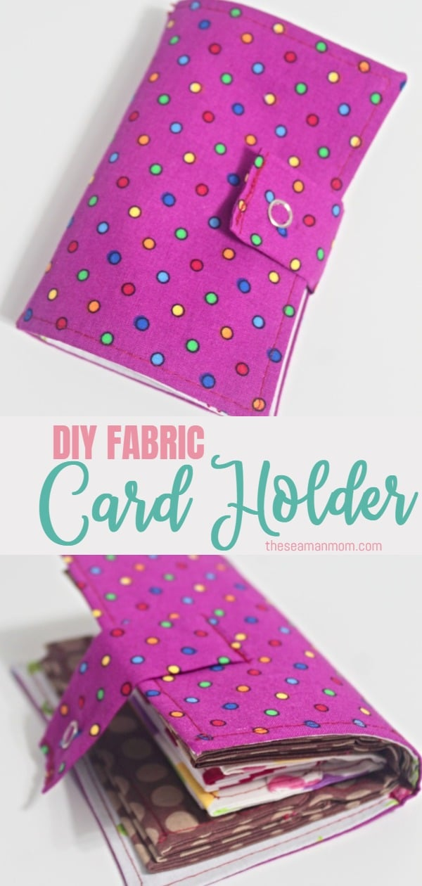 Need a safe place to store your credit cards, ID cards, business cards and even a little bit of cash when going out? Sew yourself a useful and practical DIY card holder! via @petroneagu