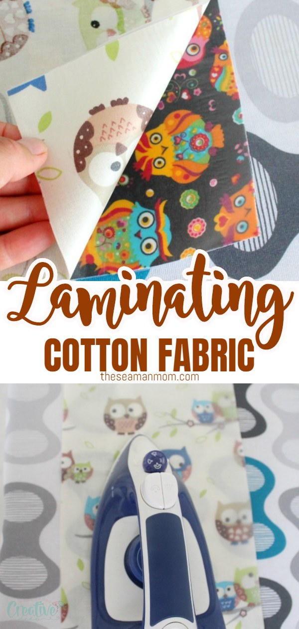 There's a variety of great sewing projects that require laminated cotton fabric. And laminating fabric at home is now so easy peasy! Learn how to laminate fabric at home with this simple and easy method! via @petroneagu