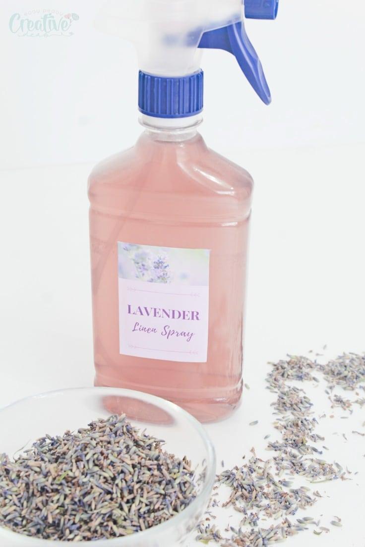 Lavender linen mist