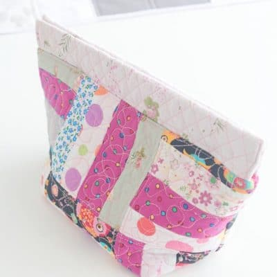 Quilted snap bag tutorial
