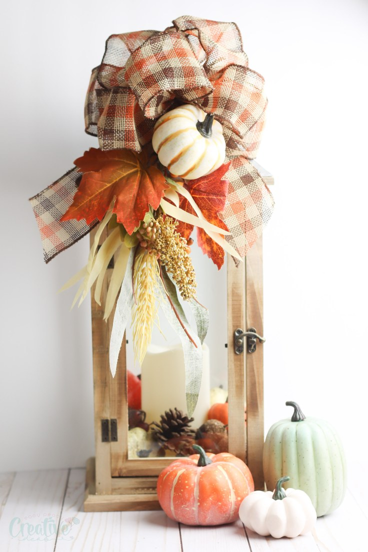 How to decorate a lantern