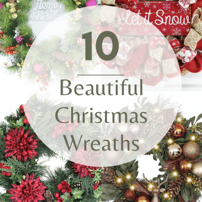 10 Delightful & Classy Christmas Wreaths You Need Right Now