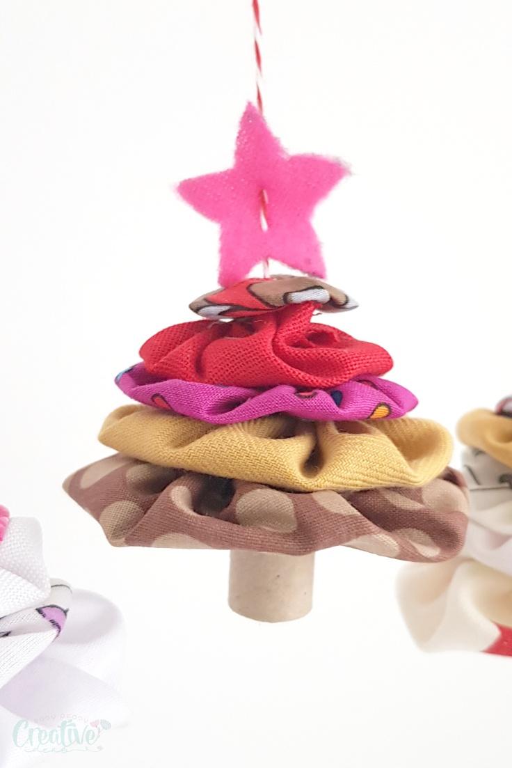 Yoyo Christmas tree ornaments