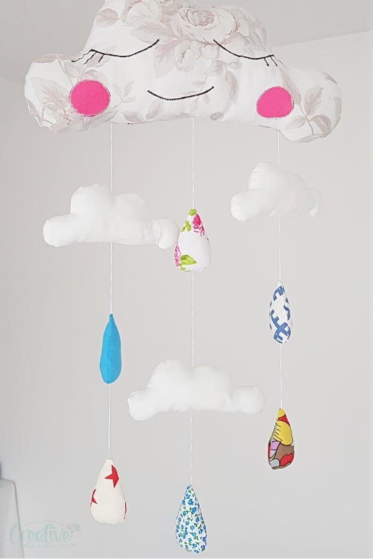 Cloud nursery decor