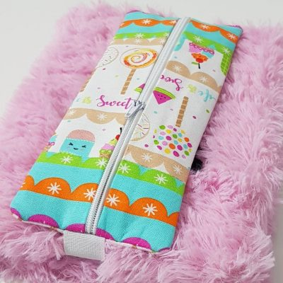 Notebook pencil holder sewing pattern