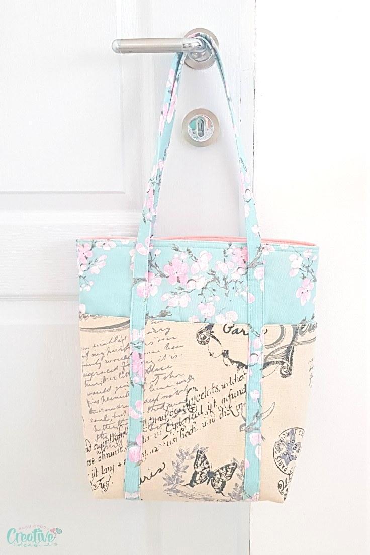 Multi pocket tote bag
