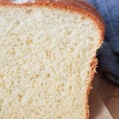 Homemade sandwich bread recipe