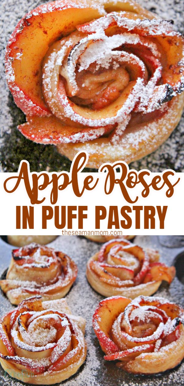 These gorgeous mini apple rose tarts are the bomb! Super eye catching, this apple roses recipe is probably one of the easiest recipes you'll ever make! via @petroneagu