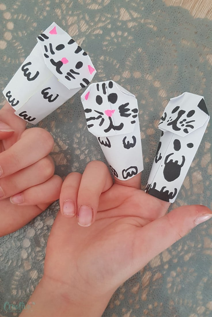 Finger puppets craft