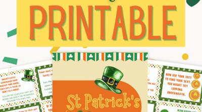 St Patrick's day treasure hunt