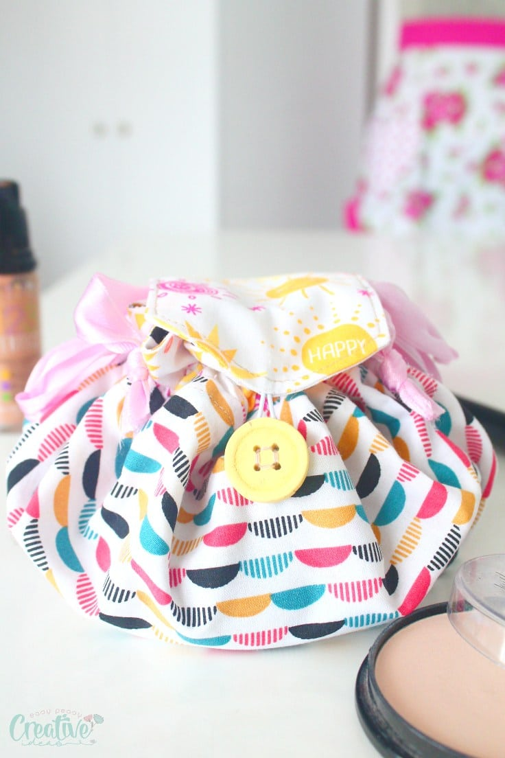 Quick makeup bag pattern