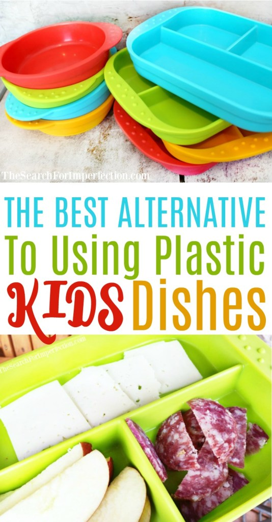 If you've ever felt guilty about all the plastic kids dishes you buy, check these out. They are the best alternative to plastic kids dishes out there!