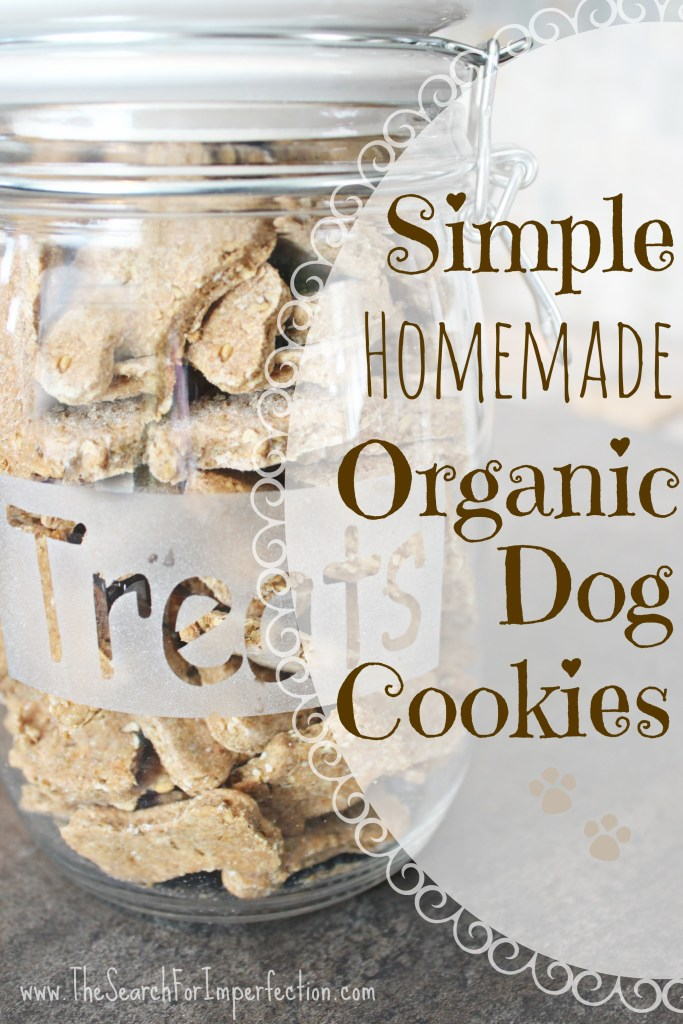 Organic Homemade Dog Cookies