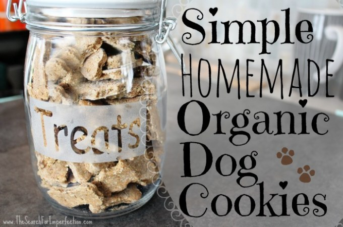 Simple Homemade Organic Dog Cookies