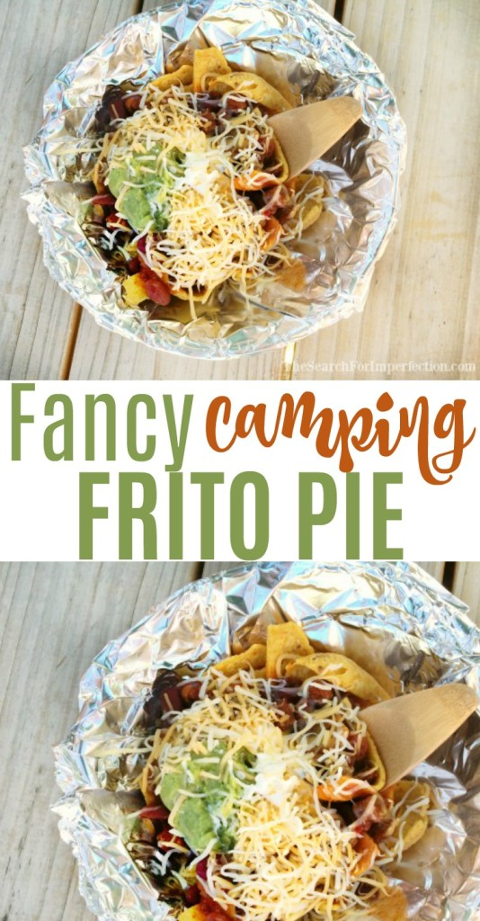 Who knew that camping would make this classic fancy | Fancy Camping Frito Pie