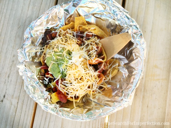 Fancy Camping Frito Pie