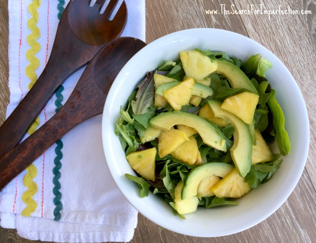 Pineapple Avocado Salad