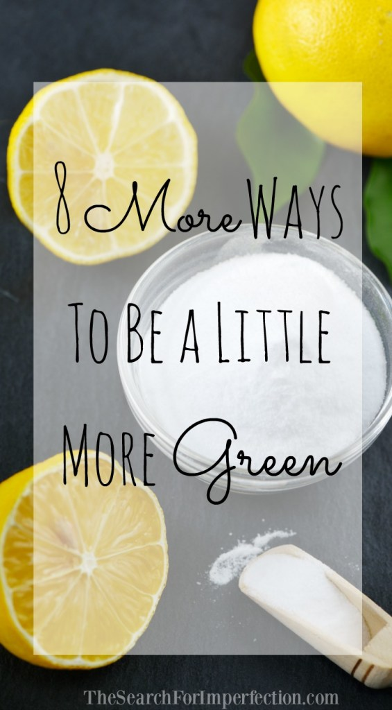 Check out these super easy tips on how to be more green!