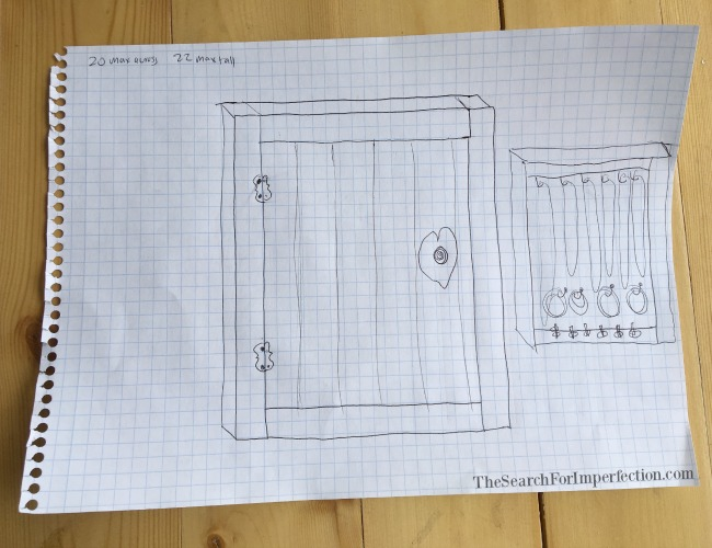 Jewelry Box Drawing Plans