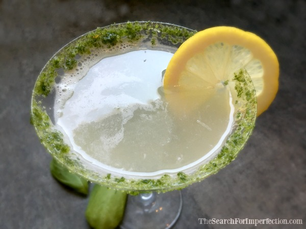 Lemon Basil Martini