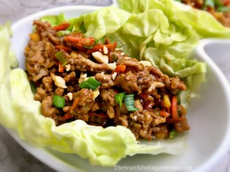 Delicious Turkey Lettuce Wrap