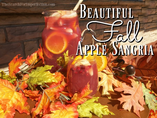 Easy Apple Spice Sangria