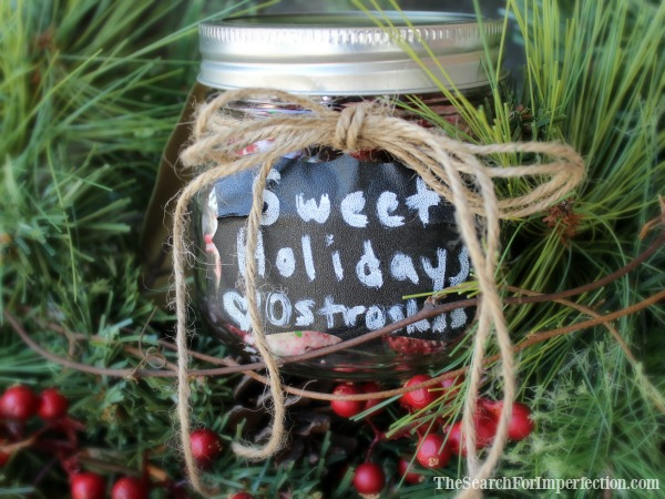 Sweet Holidays, Christmas Cookies in a Jar