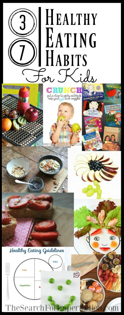 37 Resources for Healthy Eating Habits for Your Kids