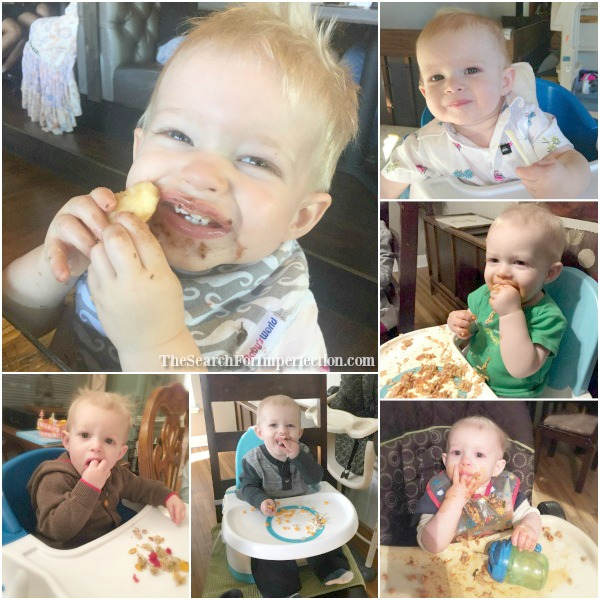 A whole lotta baby led weaning