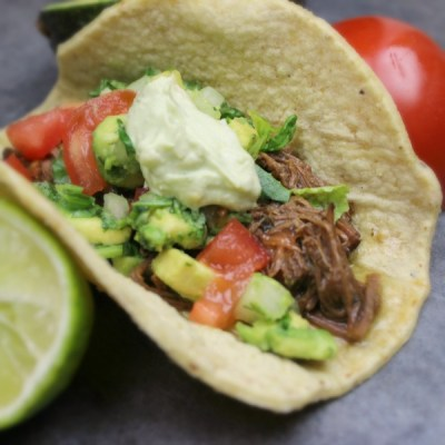 Slow Cooker Street Taco