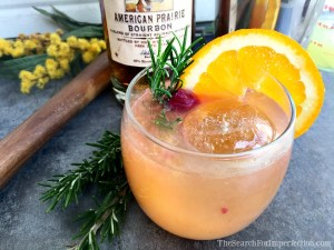 Bourbon Manhattan Sour