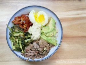 Steak and Egg Protein Buddha Bowl