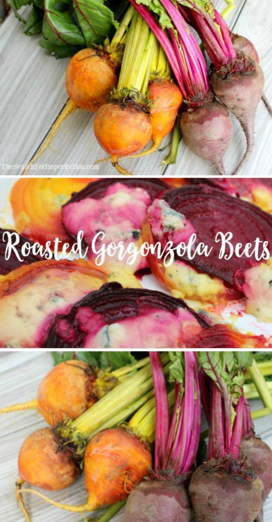 Roasted gorgonzola beets have a really delicious, nutty flavor!