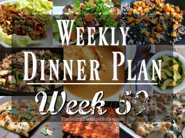 Weekly Dinner Plan Week 59 | 7 Nights of Dinner Ideas to Help You Eat at Home