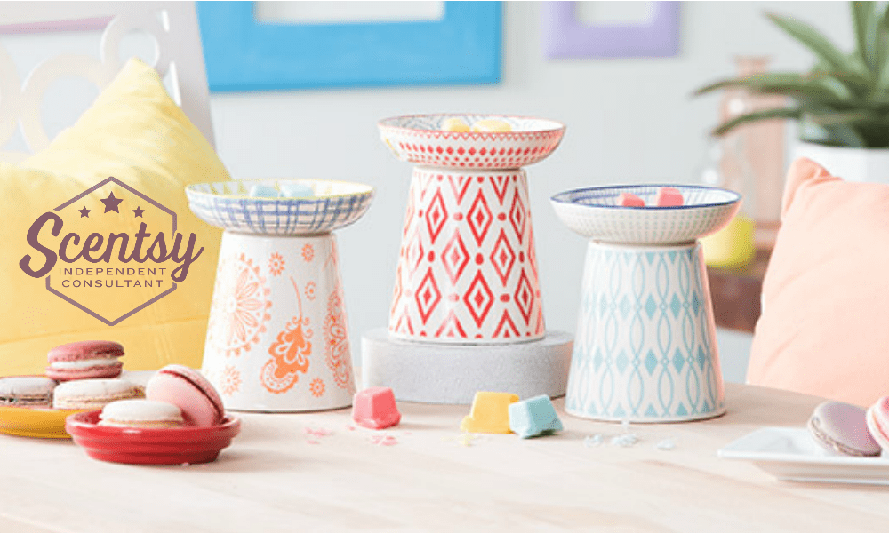 Cute Scentsy Mix and Match Warmers