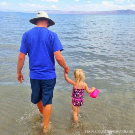 Father's Day at the Beach