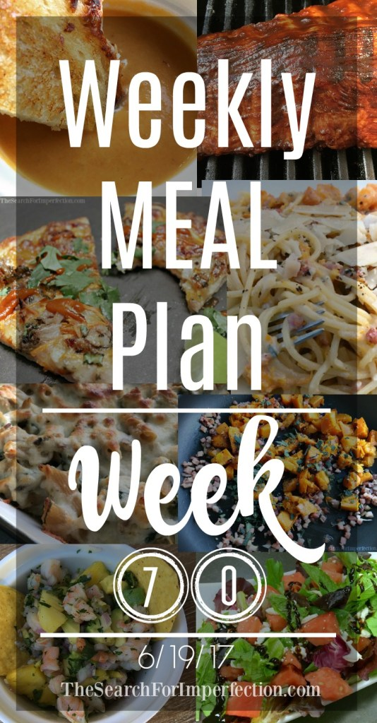 Check out this week's dinner inspiration in Week #70 Weekly Meal Plan
