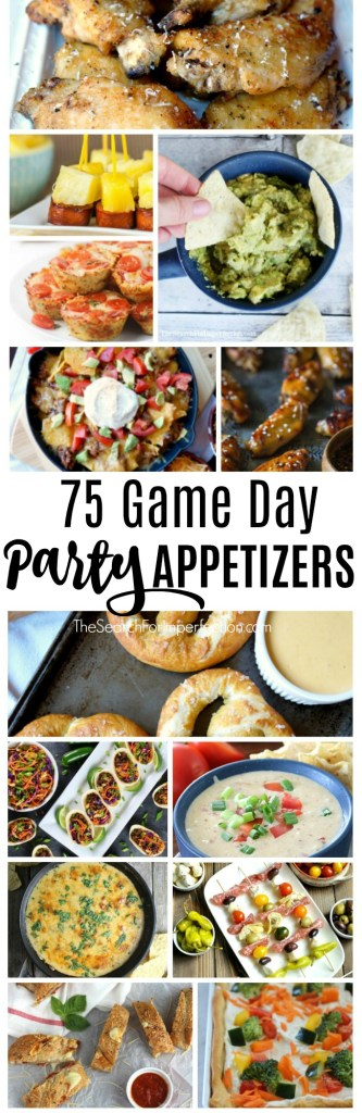 I want to try all these game day party appetizers!